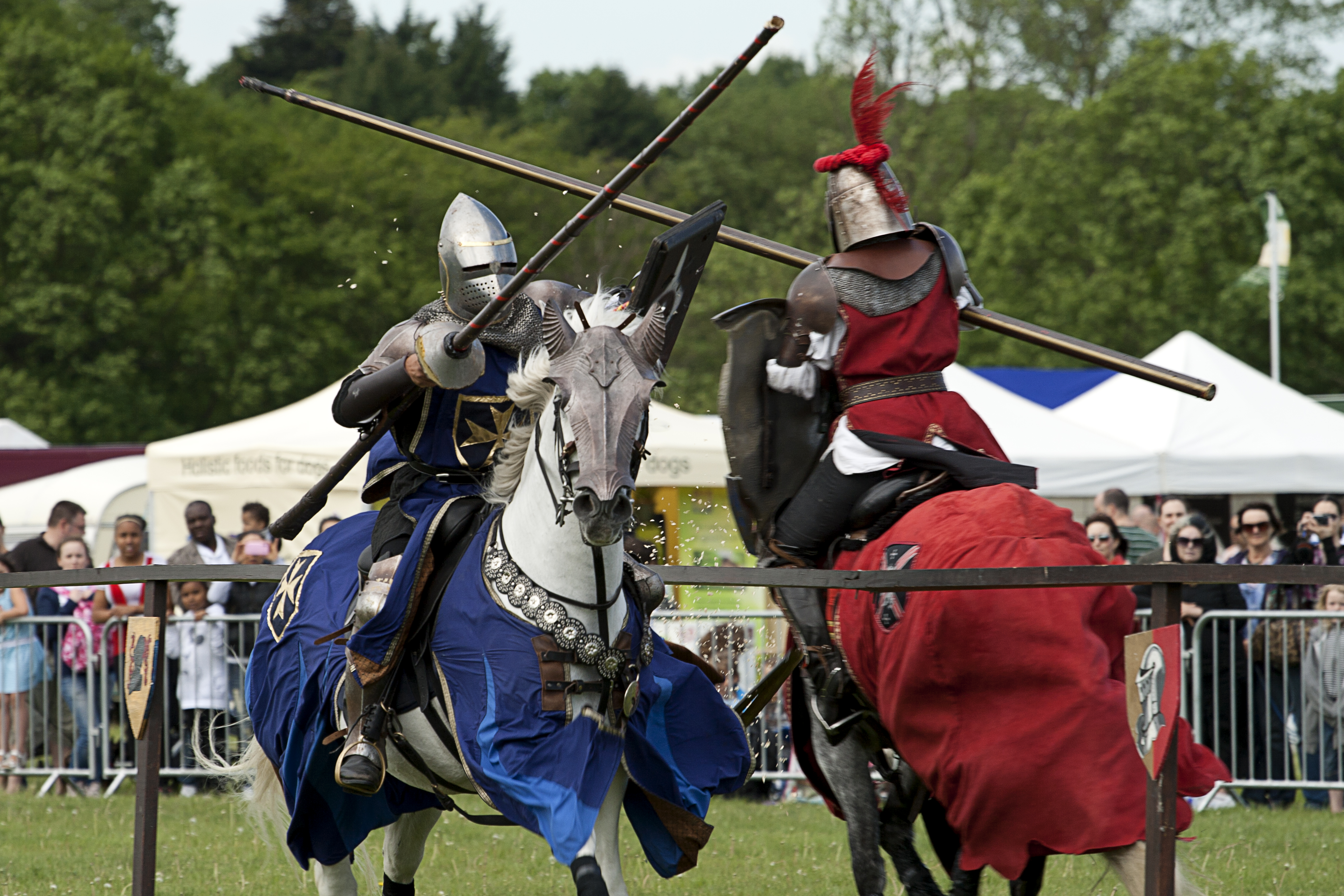 Sources from the 14th and 15th centuries are used to recreate jousting